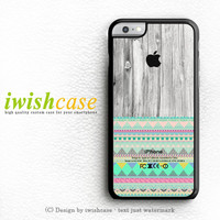 Skin Aztec Geometric Pattern On Wood iPhone 6 Case iPhone 6 Plus Case Cover