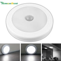 Magnetic Infrared IR Bright Motion Sensor Activated LED Wall Lights Night Light Auto On/Off Battery Operated for Hallway Pathway