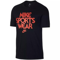 Punk Hipster T-shirt Original New Arrival 2018 NIKE AS M NSW TEE CNCPT BLUE Men's T-shirts short sleeve Sportswear AT_47_3