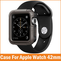 New Rugged Cover Armor For Apple Watch 2 1 Case 42mm 38mm Fundas for iwatch Series 2 Cases Scratches Shockproof Protective Skin