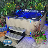 Divine Hot Tubs™ DL-420 Deluxe 65-jet, 4-person Spa