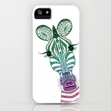 ♥ ♥ ♥     ZOE ZEBRA   ♥ ♥ ♥   iPhone Case by M✿nika  Strigel   Society6 for iphone 5 + 4 S + 4 + 3 GS + 3 G + ipod_touc