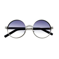 Stylish Metal Retro Vintage Circle Round Sunglasses Shades R1810