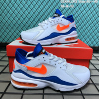 HCXX N221 Nike Air Max 93 2018 Summer Sports Casual Running Shoes White Orange