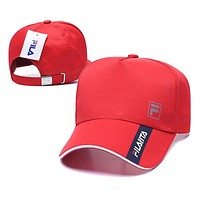 FILA Fashion Snapbacks Cap Women Men FILA Sports Sun Hat Baseball Cap Q_1481979175