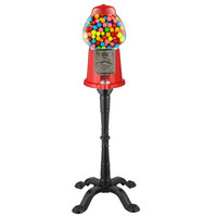 """Great Northern Popcorn 15"""" Vintage Candy Gumball Machine Bank with Stand"""