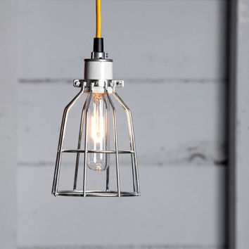 Cage Light Pendant - Metal Cage Lamp