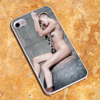 Miley Cyrus Wrecking Ball Design For iPhone4/4s Case, iPhone 5/5s/5c Case, Samsung S3/S4 Case