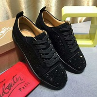 {SC} Christian Louboutin Fashionable casual board shoes