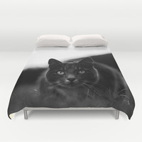 Carnivore Duvet Cover by HappyMelvin