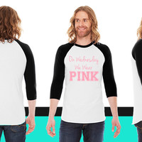 Mean Girls American Apparel Unisex 3/4 Sleeve T-Shirt