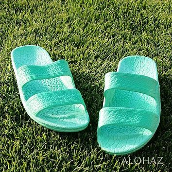 green classic jandals® -  pali hawaii Jesus sandals