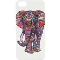 With Love From CA Tribal Elephant iPhone 5/5S Case - Womens Scarves - Multi - NOSZ