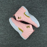 2017 Air Jordan 12 Retro PREM HC GG AJ 12 Women basketball shoes