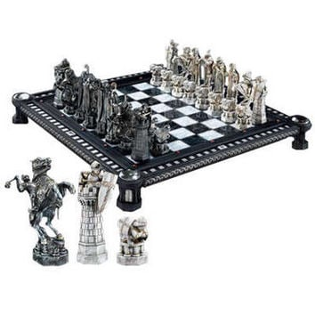 Harry Potter Final Challenge Chess Set by Noble Collection  