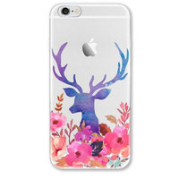 Adorable Deer Printed Iphone Cases
