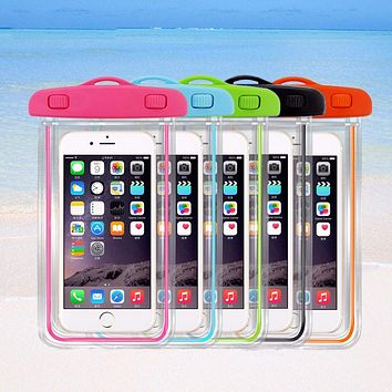 Universal Waterproof Case Pouch Bag For Smartphones