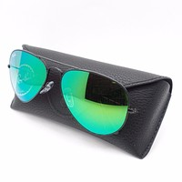 Cheap Ray Ban RB 3025 62mm 002/4J Black Green Fade Mirror Authentic Sunglasses outlet
