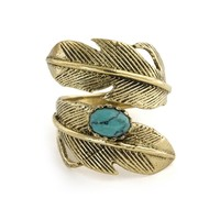 Natalie B. Light as a Feather Ring in Turquoise | Boutique To You