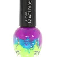 Blackheart Blue Stack Nail Polish | Hot Topic