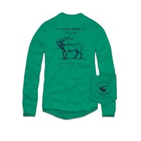 Palmetto Moon   Over Under Sound Off Elk Long Sleeve T-shirt   Palmetto Moon
