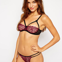 ASOS Millie Corded Lace Lingerie Set at asos.com