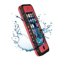 VicTec Waterproof Phone Case Cover For Apple Iphone 5C Shock-Absorbing Pumber Dirtproof Rosy
