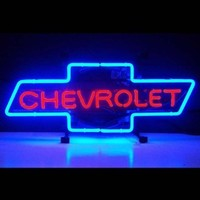 Cars and Motorcycles Chevrolet Bowtie Neon Sign