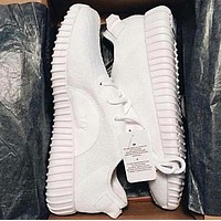 "Fahion ""Adidas"" Women Yeezy Boost Sneakers Running Sports Shoes White"