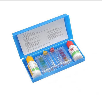 Deluxe 2-Way Swimming Pool Test Kit with Case - Tests pH, Chlorine and Bromine