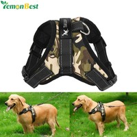 Dog Soft Adjustable Harness Collar