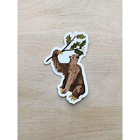 Rusty the Giant Sloth Sticker