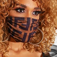 FENDI VERSACE Hot Sale Men Women Breathable Printed Mask