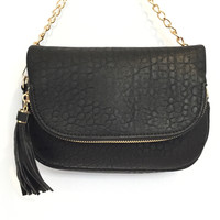 Dandy Crossbody Handbag In Black