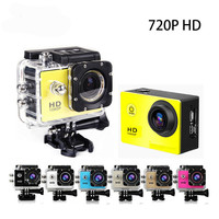 Outdoor Sport Action Camera 720P HD Mini Cam Go Waterproof Pro Bike Car Dvr Recorder