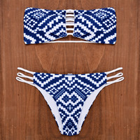 Bandage Strap Bikini Women Swimsuit Bathing Suit  Bikini Set
