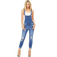 Aura Ankle Skinny Overalls