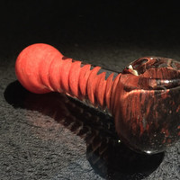 """Color Fading Spiral Hand Blown Glass Smoking Pipe Spoon Style Bowl Glass Pipe 3"""""""
