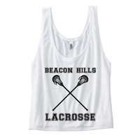 Teen Wolf Beacon Hills Lacrosse Tank WITH Back Detail