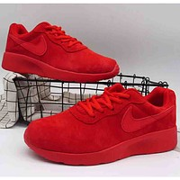NIKE 2018 pig eight fashion casual men and women high-quality sports shoes F-A36H-MY Red