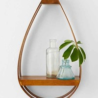 Bentwood Teardrop Small Shelf - Brown One