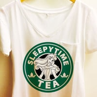 Sleeping Beauty Pocket Shirt | Starbucks Disney