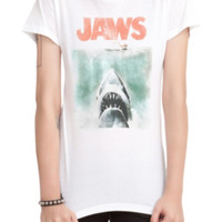 Jaws Vintage Poster Girls T-Shirt