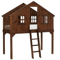 Tree House Twin Bed, Rustic Tuscan | Pottery Barn Kids