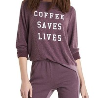 Coffee Saves Lives Sweatshirt