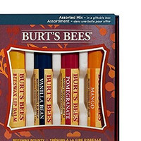 Burt's Bees Assortment - Fruit Mix - Giftable Box - Mango, Coconut & Pear, Pink Grapefruit & Wild Cherry