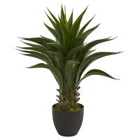 """28"""" Agave Artificial Plant"""
