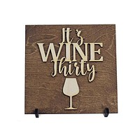 Gifts for Her - Gifts Under 15 - Gifts for Wine Lover - Wine Bar Sign - Wood Sign - Wine Gift  - Birthday Gift - Kitchen Decor - Best Friend