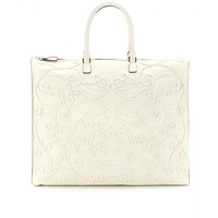 mytheresa.com -  Intrigate leather tote  - Luxury Fashion for Women / Designer clothing, shoes, bags