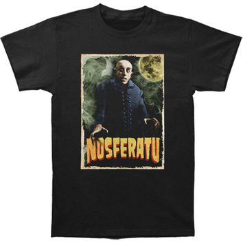 Nosferatu Men's  Nosferatu Slim Fit T-shirt Black